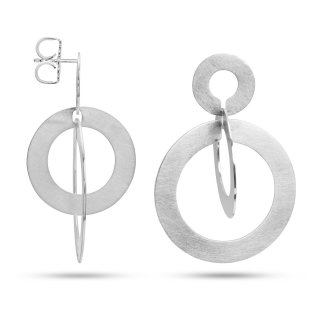 Ohrstecker | Sterlingsilber Geometrisch inspiriert und zeitlos-elegant