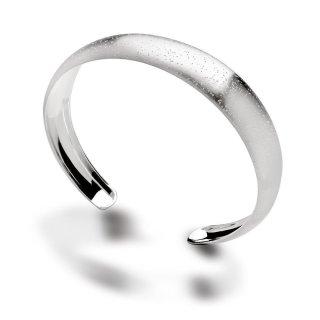 Armspange 925/- Sterlingsilber mit diamantierter Oberfläche