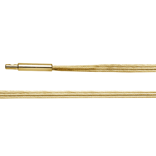 Halsreif 925/- vergoldet, dreihreihig, 45cm
