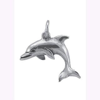 Anhänger Delphin 925/- ox